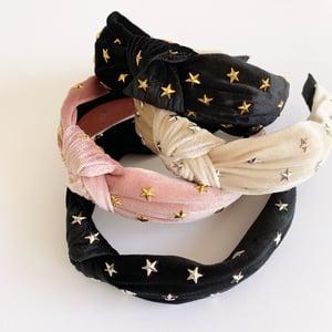 Image of Velvet Star Headband