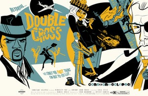 Image of LIMITED/NUMBERED DOUBLECROSS SILKSCREEN POSTER