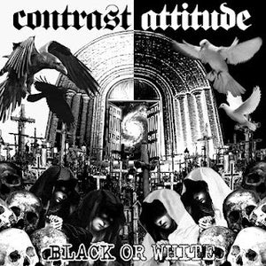 Image of CONTRAST ATTITUDE - Black Or White 7""