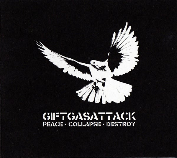 Image of GIFTGASATTACK - Peace Collapse Destroy 5""