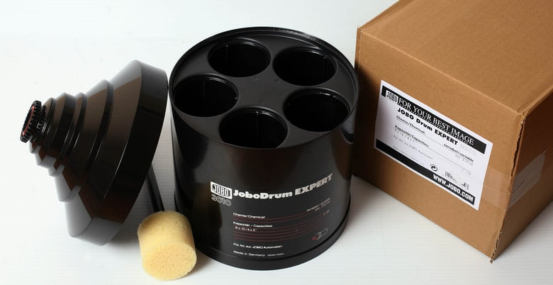Image of Jobo 3010 expert drum for up to 10 sheets of 4X5