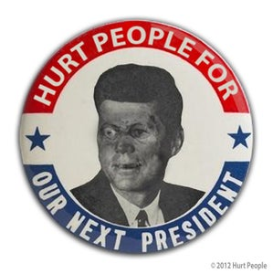 Image of Zomb F. Kennedy Button