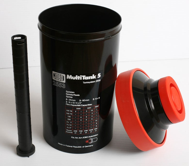 Image of Jobo 2550 MultiTank 5 (for roll or sheet film processing)