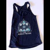 Image of Flower Diamond Women's Racerback Tank