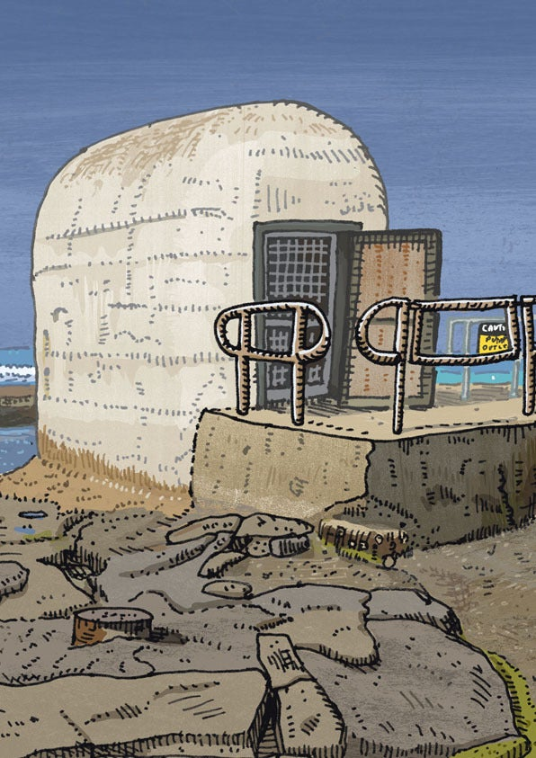 Image of Merewether Pumphouse Limited Edition Digital Print