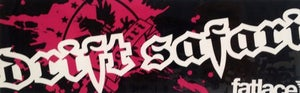 Image of Drift Safari x Fatlace Collab Sticker - Old's Cool