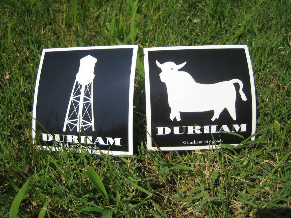 Vinyl Icon Stickers Durham City Goods