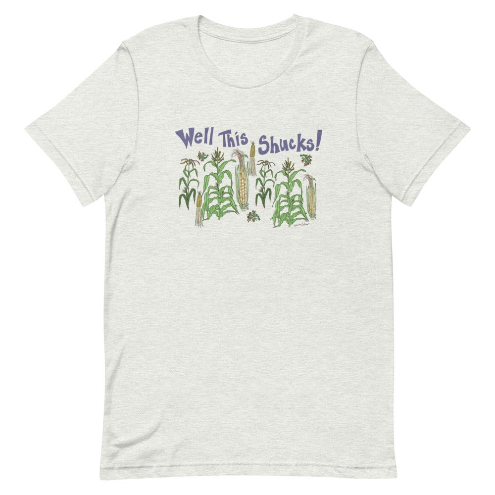 Image of Shucks, Corny Short-Sleeve Unisex T-Shirt