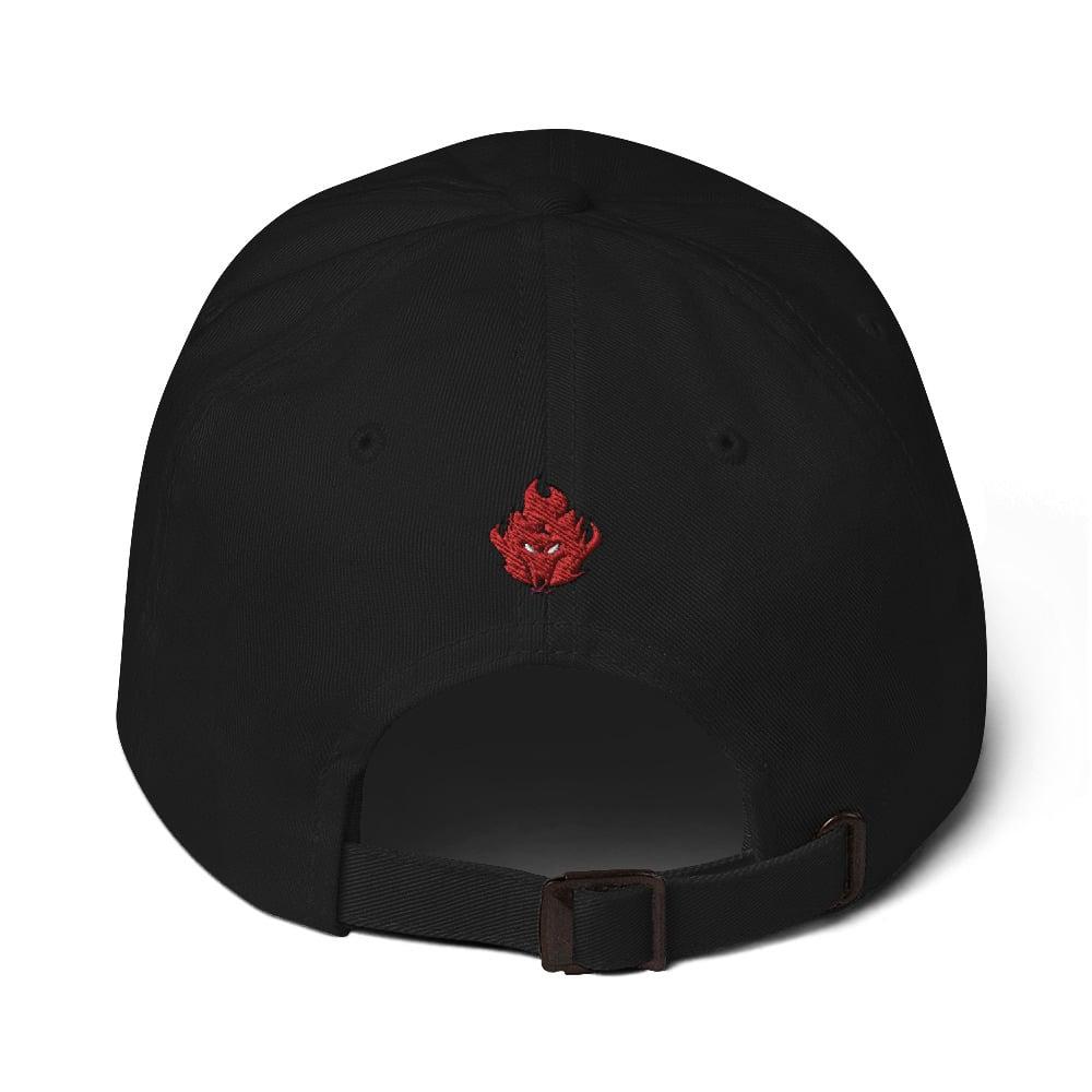 Hiroshiartandmore Fighting Spirit hat--Dad Hat edition--