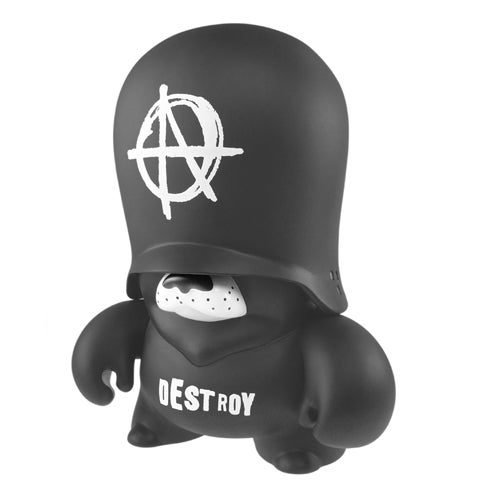 "Image of 10"" Anarchy Teddy Trooper by Frank Kozik"