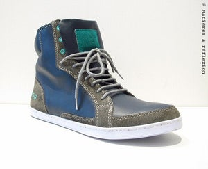 Image of <b>Piola sneakers</b> ____________<br>Montantes homme cuir<br><i>Mens leather  hi-tops</i><br>