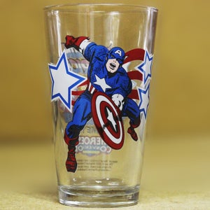 Image of HEROESCON 2006 EXCLUSIVE :: CAPTAIN AMERICA TOON TUMBLER