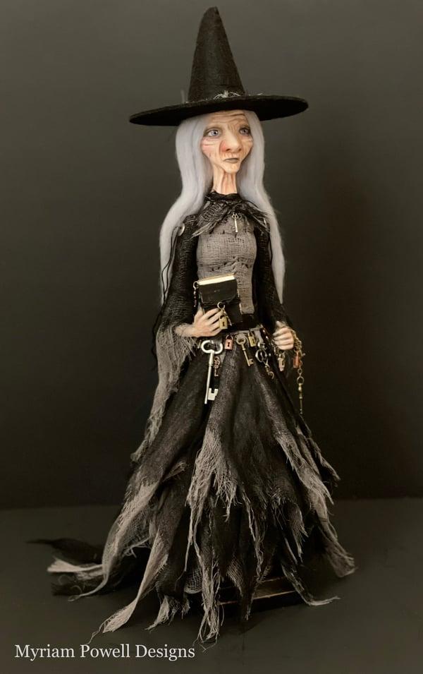 Image of Custom Art Doll - Reserved for Janica