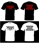 Image of Frenzied, Savage, Inhumane shirt (Mens)