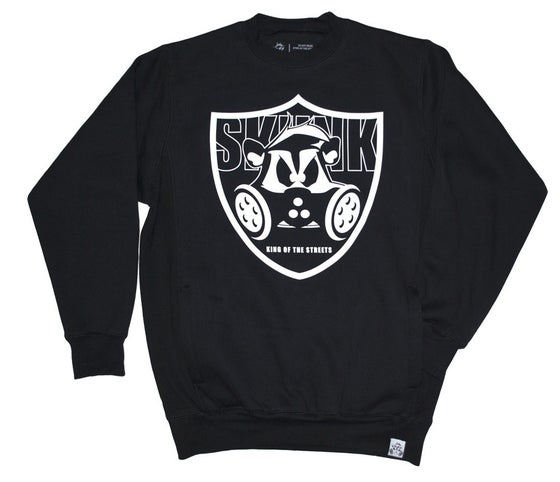 Image of Skunk Slit Pocket Crew | Black