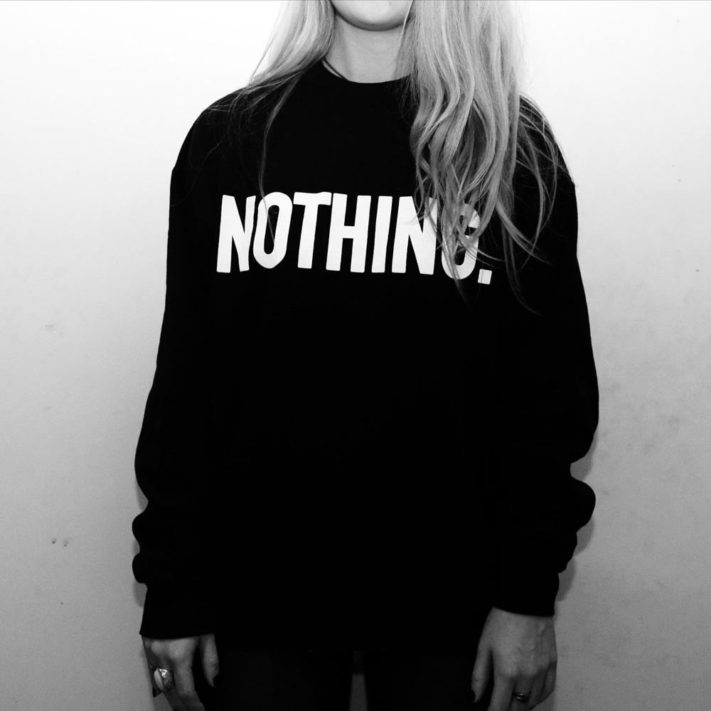 Image of Black Logo Sweater