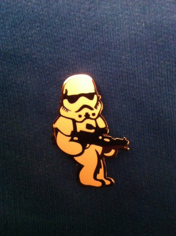 Image of Stoned Trooper pin