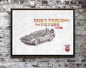 Image of Dont Frack The Future Print