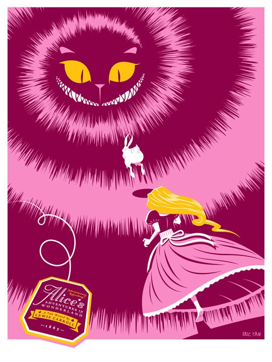 Image of 'Follow Hobson: A Tribute to Alice's Adventures in Wonderland' Pink