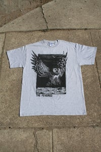 "Image of ""Owl"" T-Shirt (Black or Grey)"
