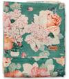 Kip & Co Peony Sage Linen Queen Flat Sheet