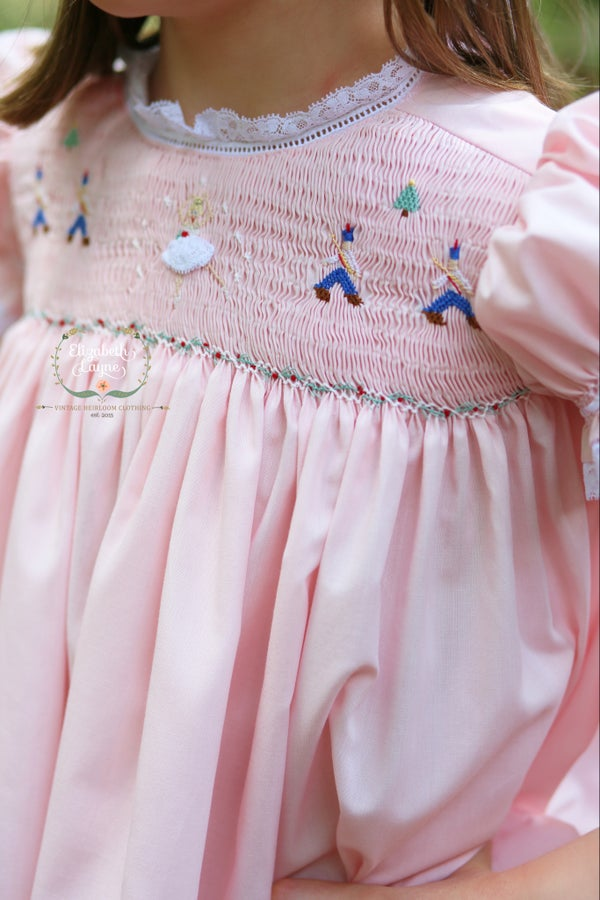 Image of Girl's Smocked Nutcracker Collection