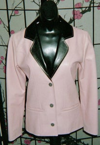 Image of Pastel Leather Jacket