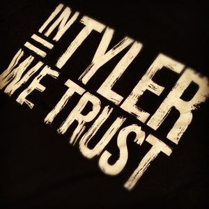 Image of 'In Tyler We Trust' Tee (Black)