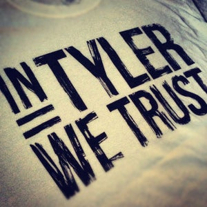 Image of 'In Tyler We Trust' Tee (White)
