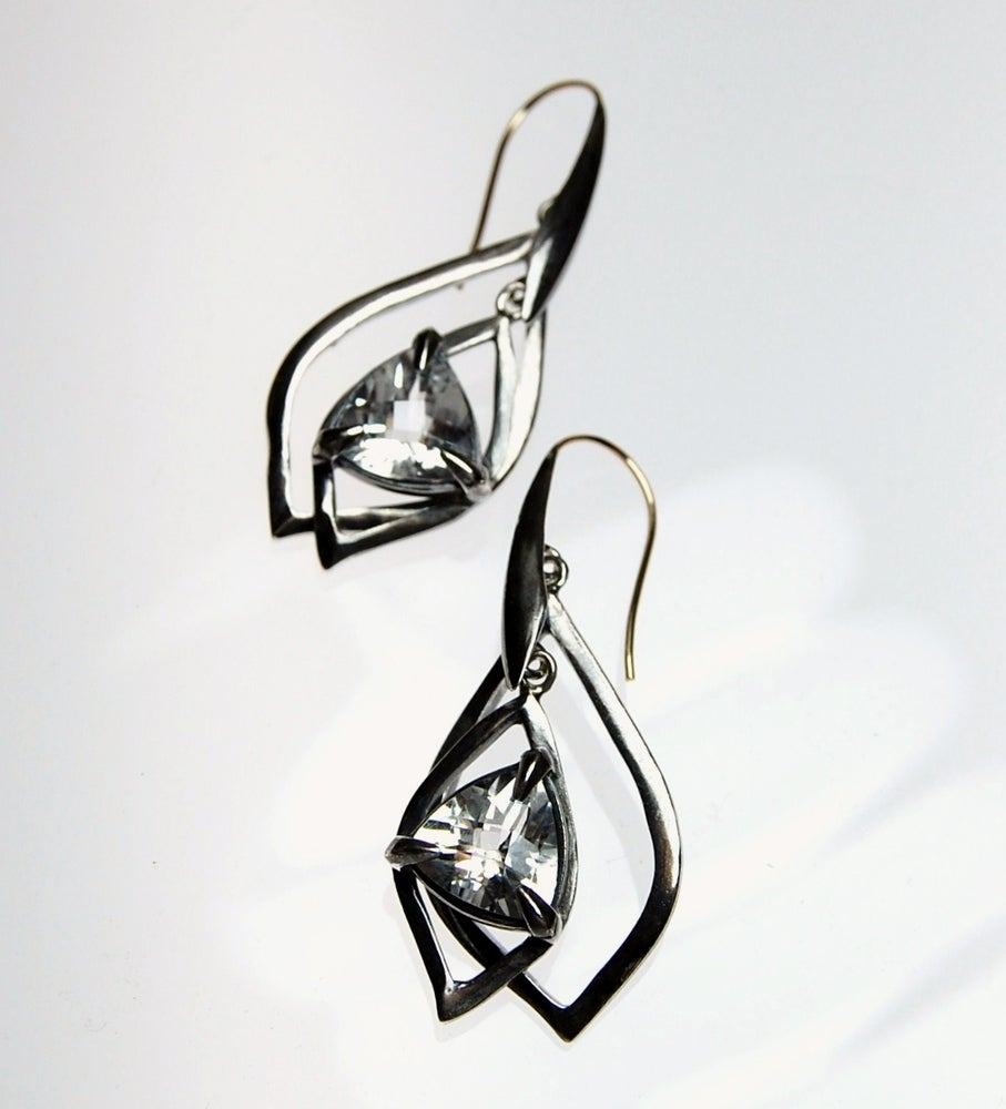 Image of Tratti Ghiaccio Earrings