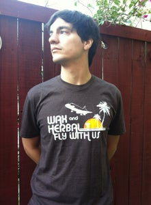 Image of Wax and Herbal T Fly with Us - Vintage Brown SOLD OUT
