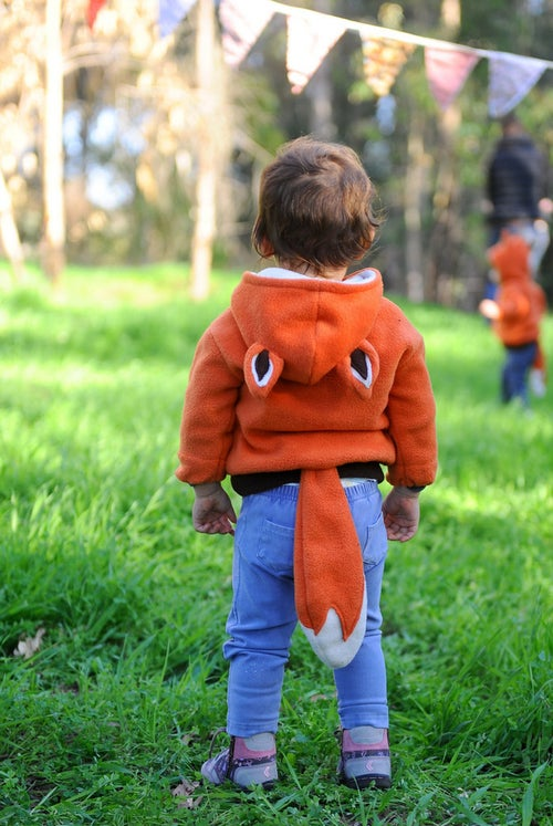 Image of Little Mr Fox Hoodie                                                      קפוצ'ון שועל