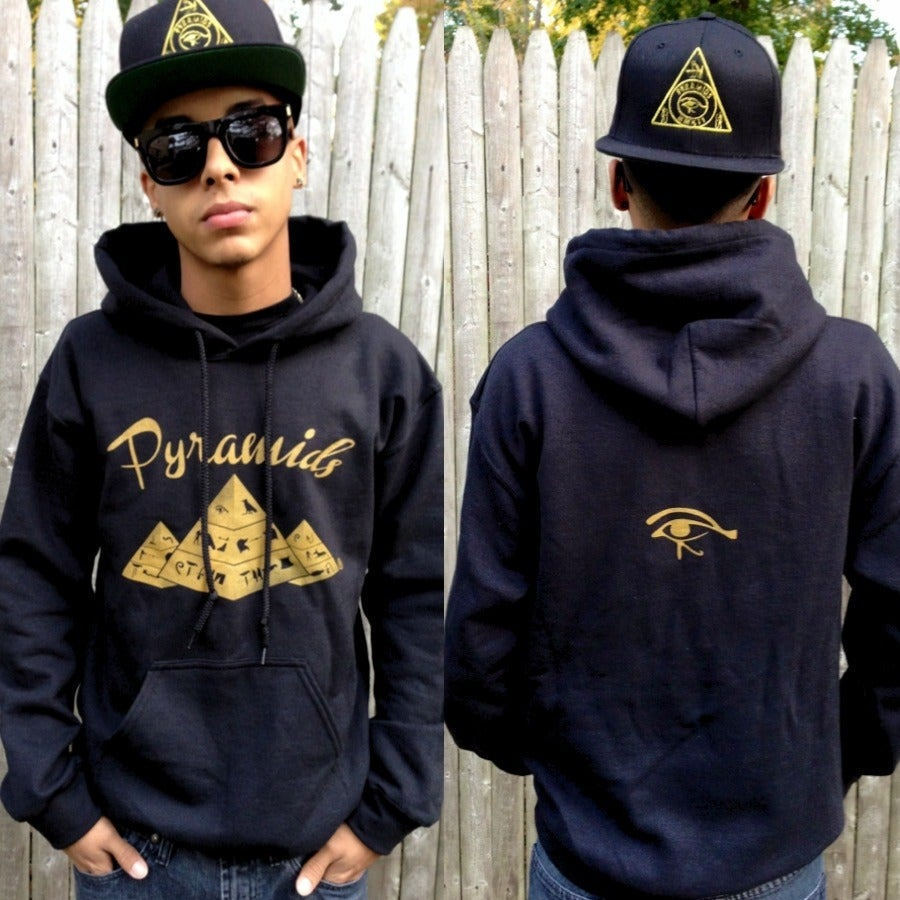"Image of ""Gold Pyramids"" Hoodie"