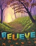 "Image of Believe - 11"" x 17"" Archival Print"