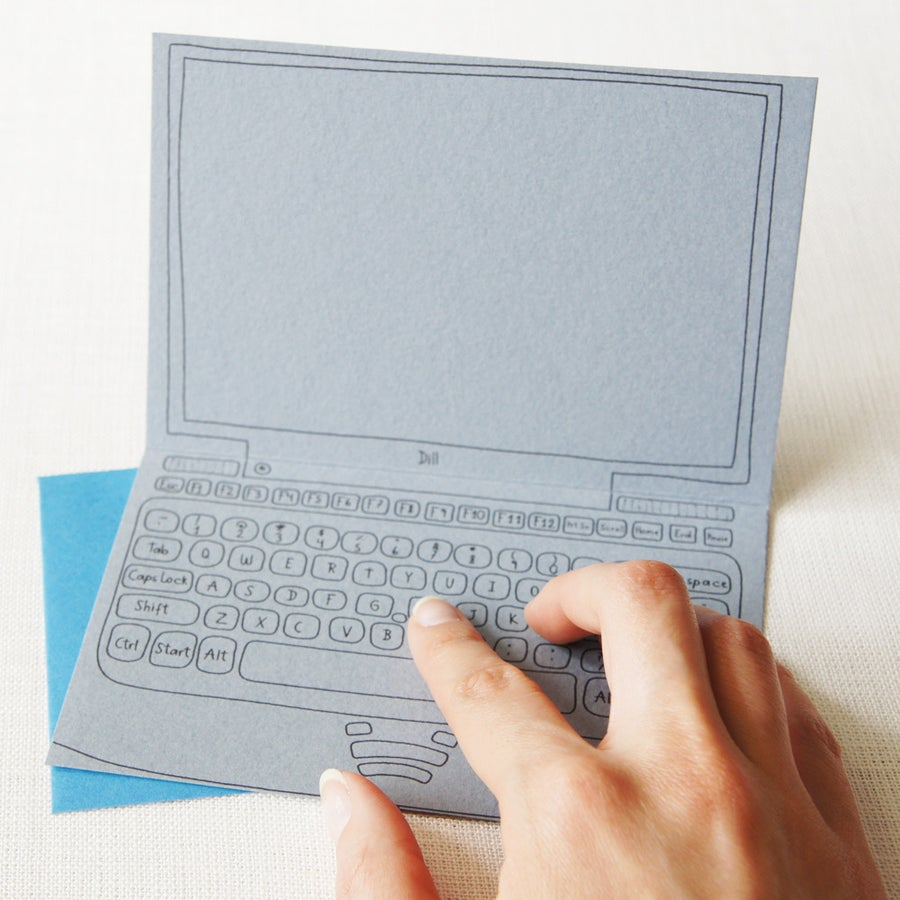 Image of Computer card - for any occasion