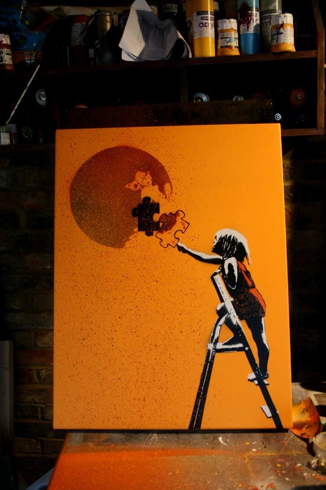 "Image of ""With one piece missing, the whole thing's broken""..... -Mango Canvas"