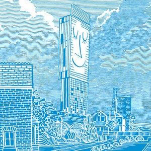 Image of Tower print