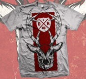 Image of RED & WHITE DEER - T SHIRT