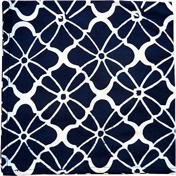 Image of Katherine RALLY TABLECLOTH Monaco in Midnight Blue