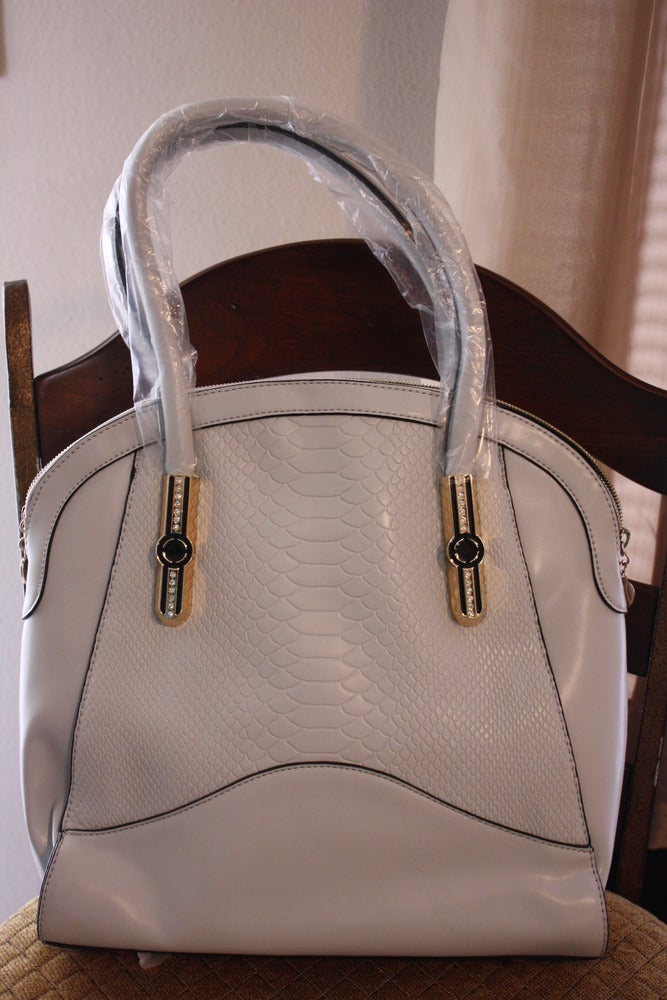 Image of Pale Grey Classic Bag