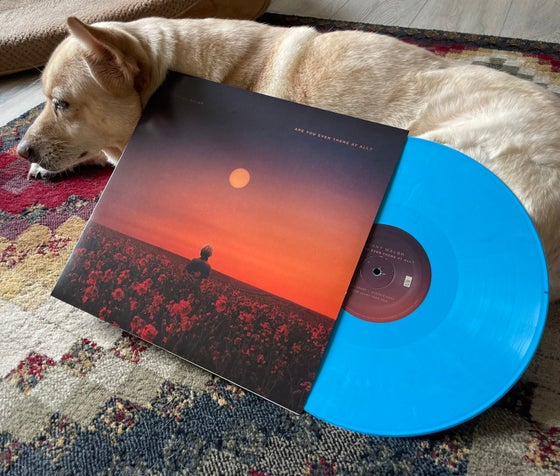 """Image of """"Are You Even There At All"""" Vinyl (limited opaque blue)"""