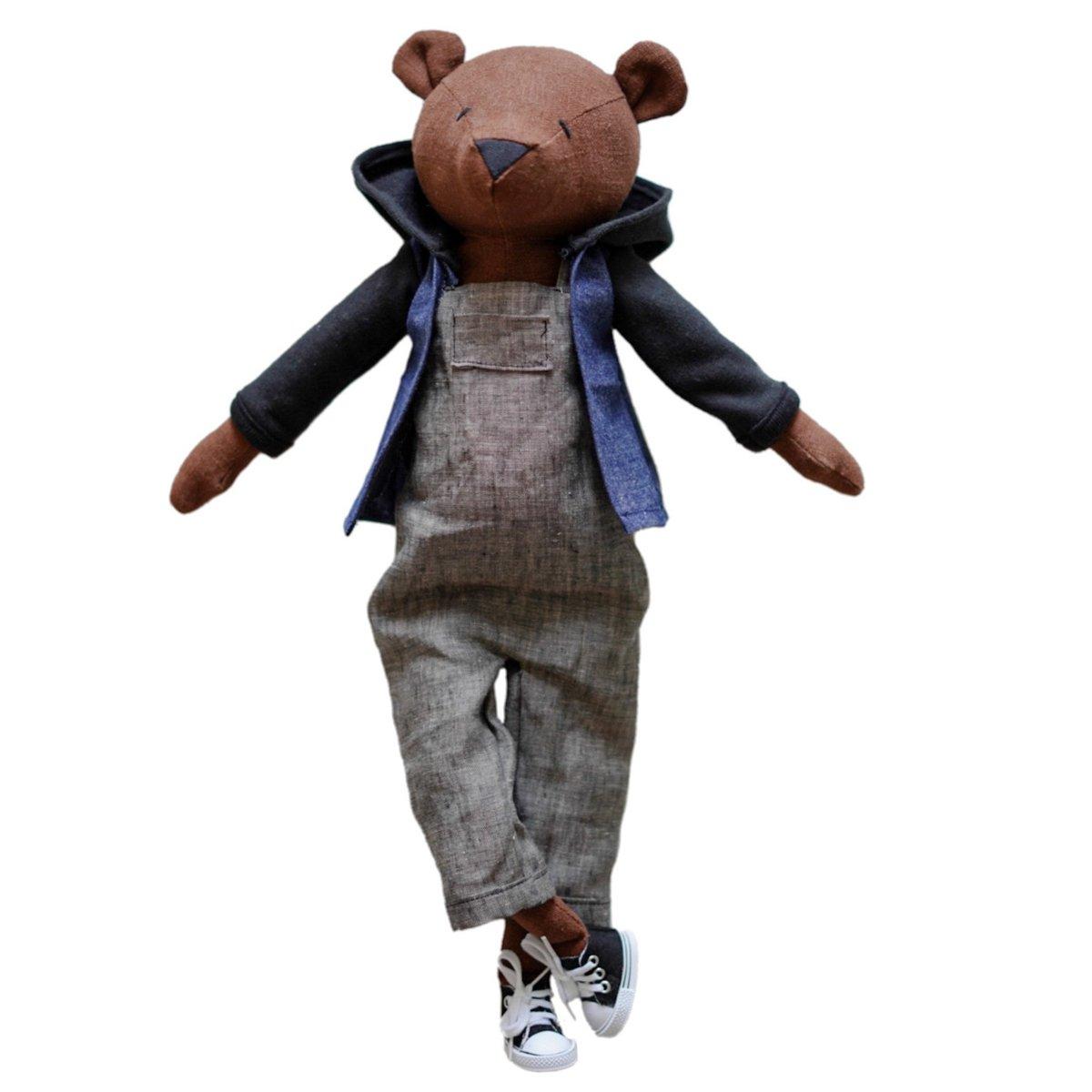 Handmade Take Me Everywhere Bear (Waitlist Preorder Item - ship date Oct 1-Mar 30,2022)