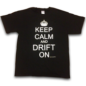 Image of Keep Calm Drift On - BLACK