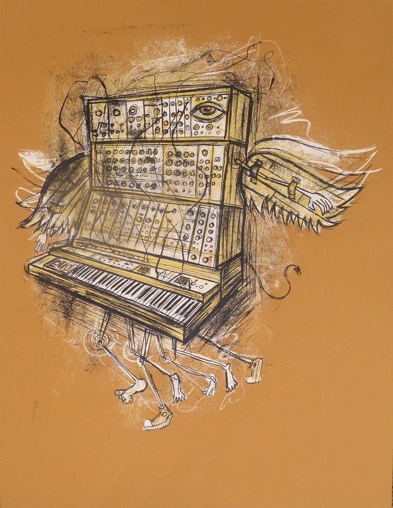 Image of Moog Migration Gold Colorway