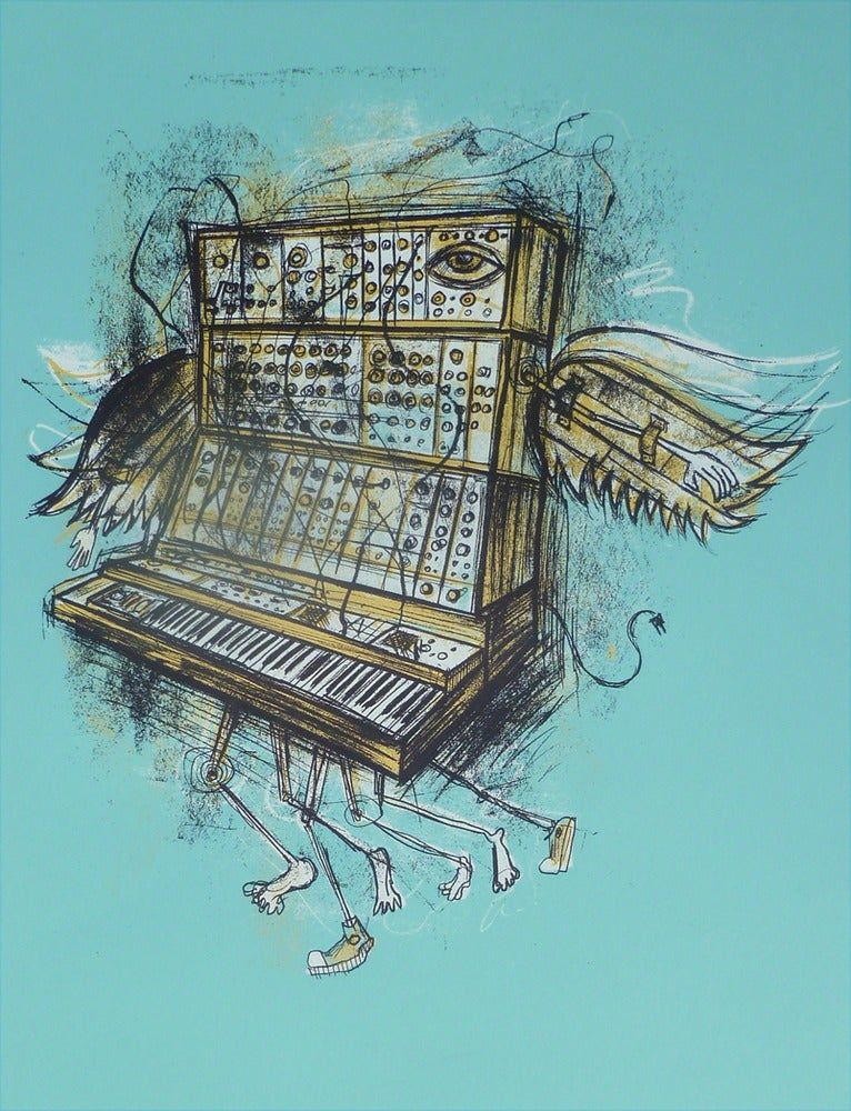 Image of Moog Migration Blue Colorway