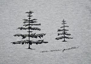 "Image of We Were Pirates - unisex American Apparel ""Tree Shirt"""