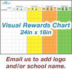 Image of Visual Rewards Chart 24in x 18in - VRC-001