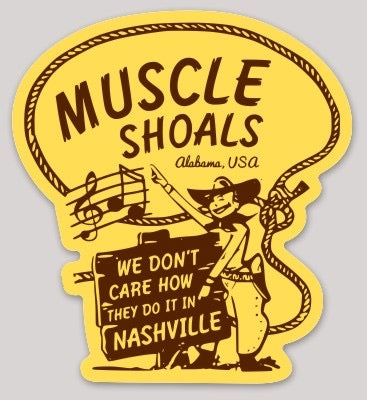 Image of Muscle Shoals Decal