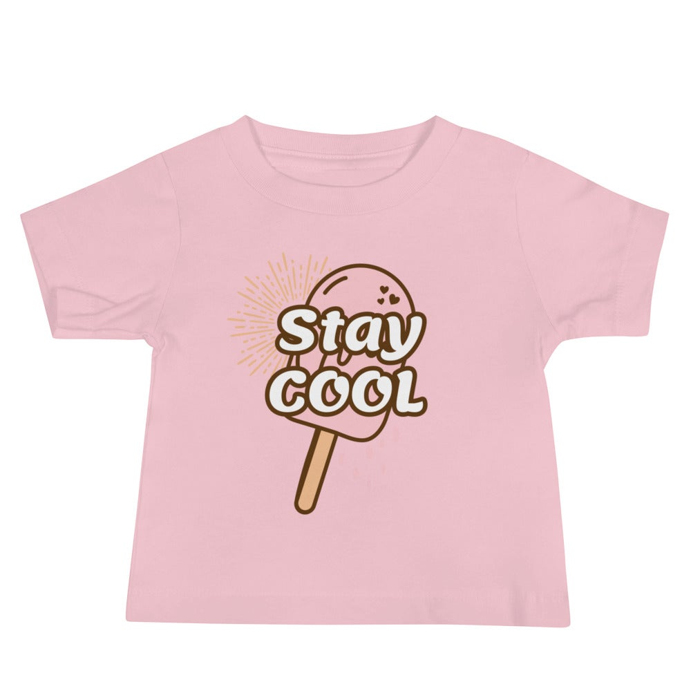 Image of I'm Always Cool Baby Jersey Short Sleeve Tee