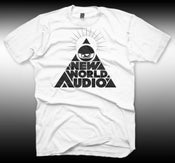 Image of PYRAMID LOGO TEE WHITE